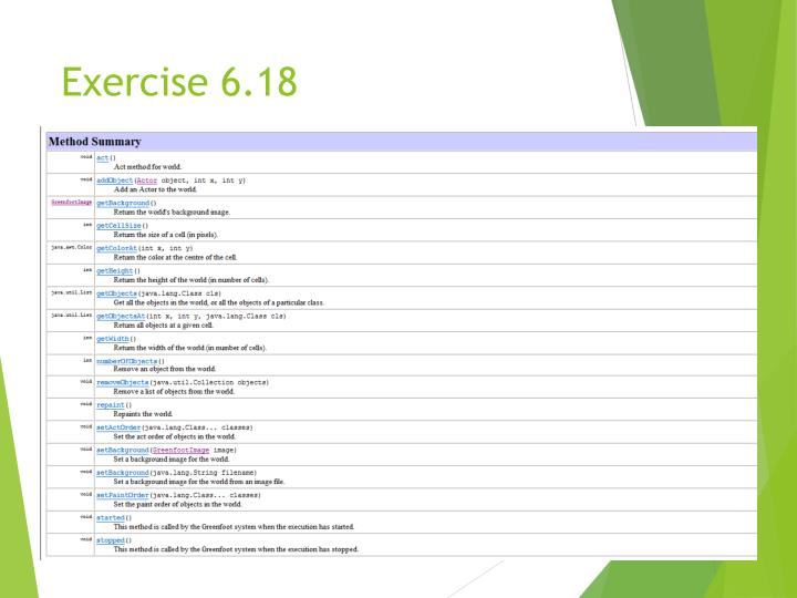 Exercise 6.18