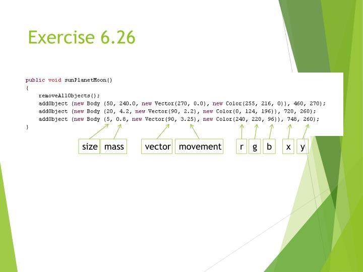 Exercise 6.26