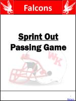 sprint out passing game