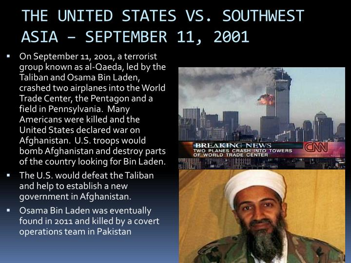 an analysis of the september 11th for the united states history Statistical abstracts of the united states september 1994 a two-part compendium which includes more than 12,500 time series providing a statistical history.