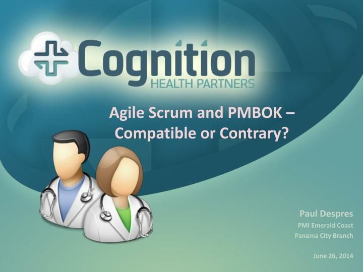 agile scrum and pmbok compatible or contrary n.