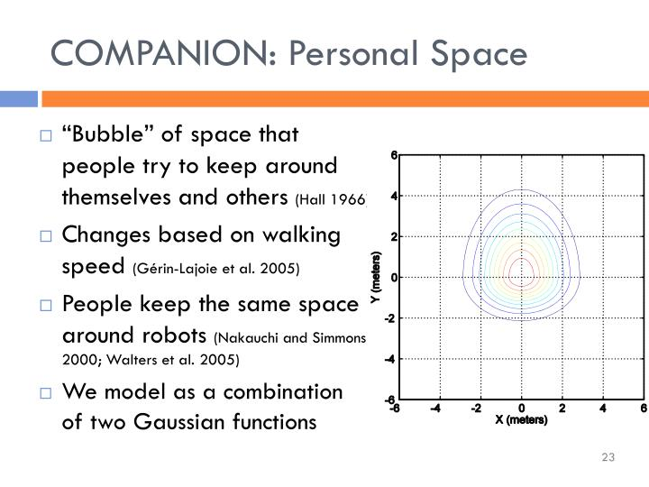 COMPANION: Personal Space