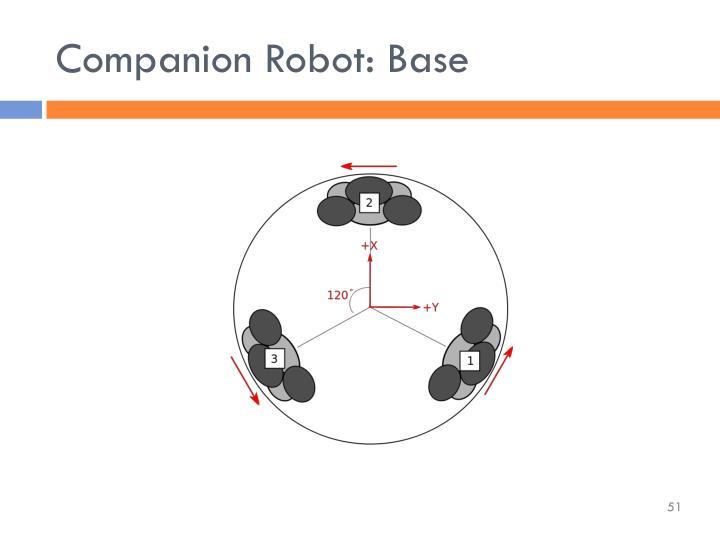 Companion Robot: Base