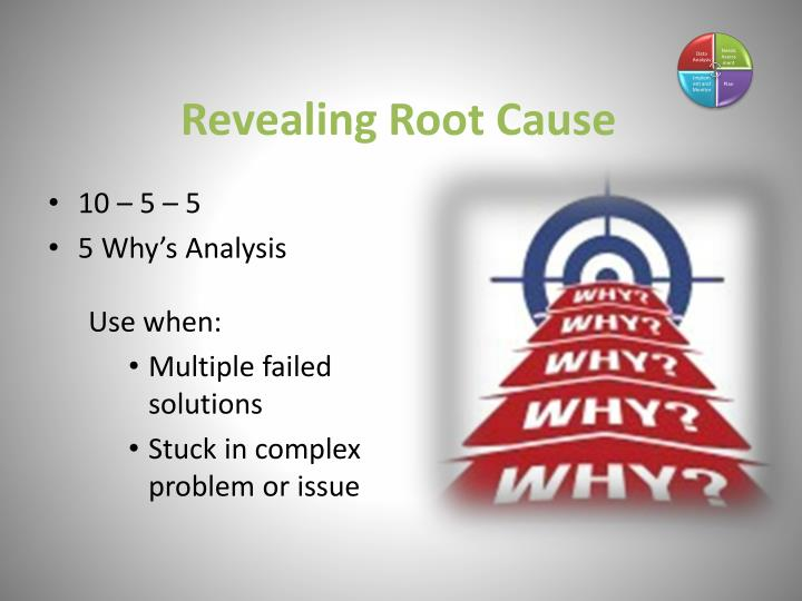 Revealing Root Cause