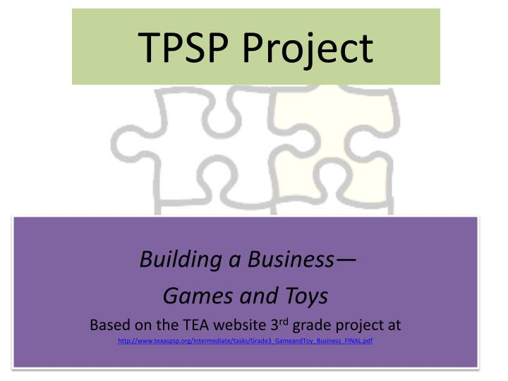 tpsp project n.