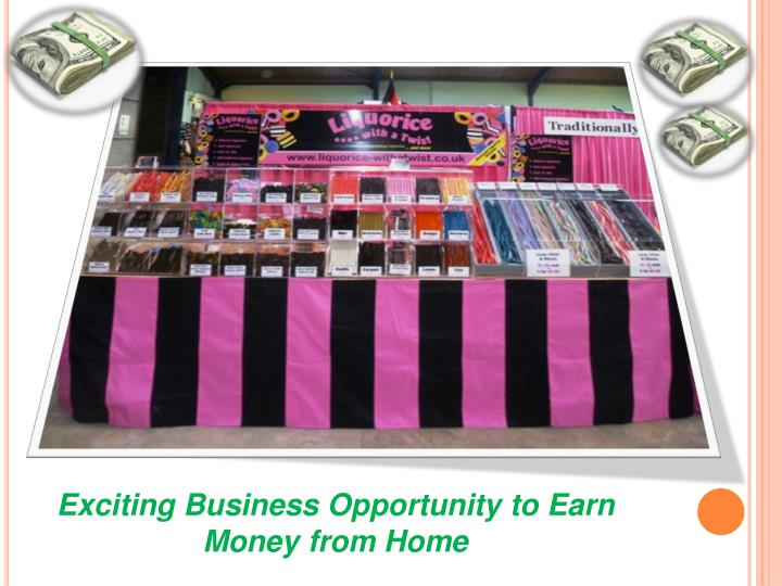 Exciting Business Opportunity to Earn Money from Home