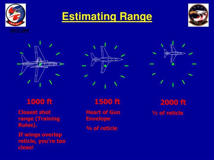 Estimating Range