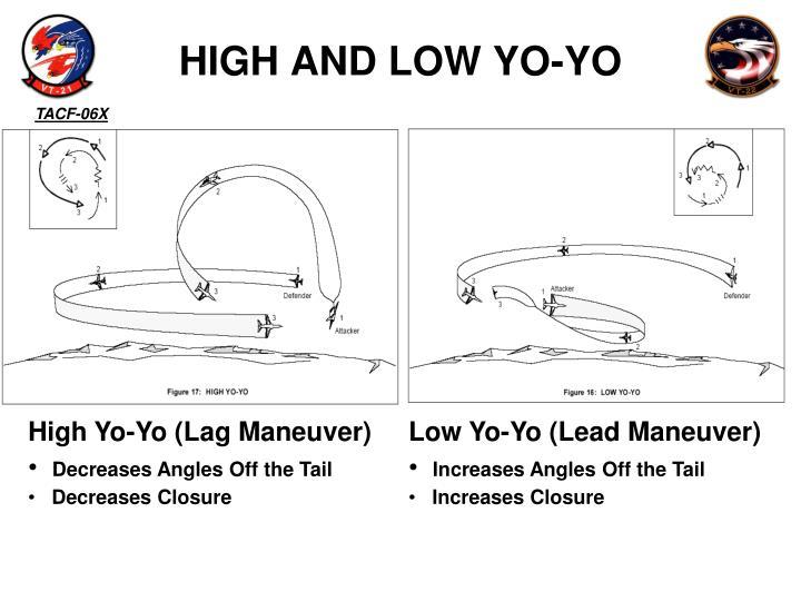 HIGH AND LOW YO-YO