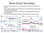 short circuit test setup1