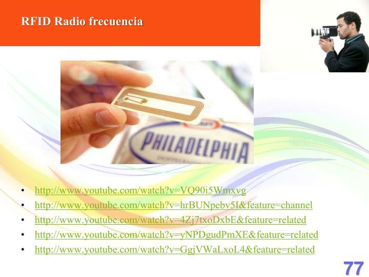 RFID Radio frecuencia