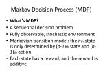 markov decision process mdp