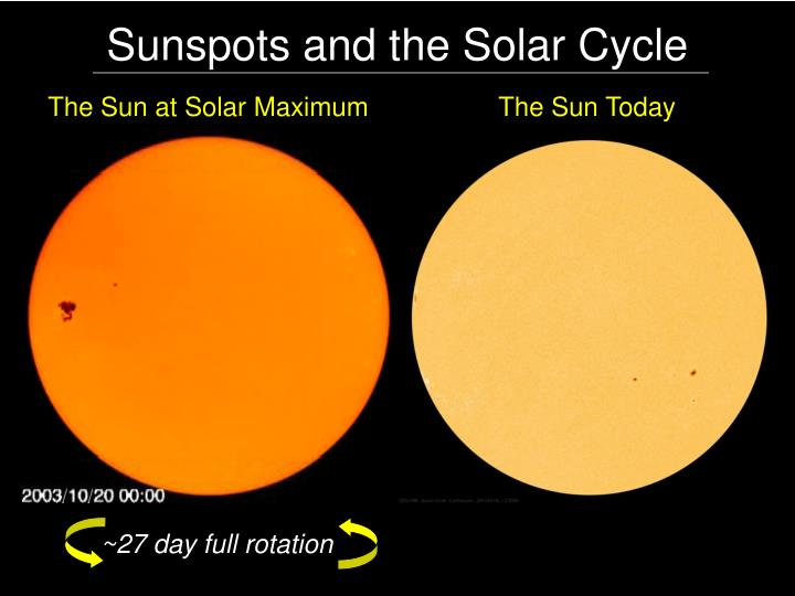 Sunspots and the Solar Cycle