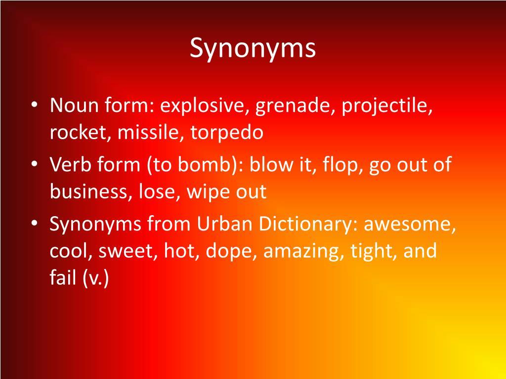 PPT - Bomb PowerPoint Presentation - ID:1856505
