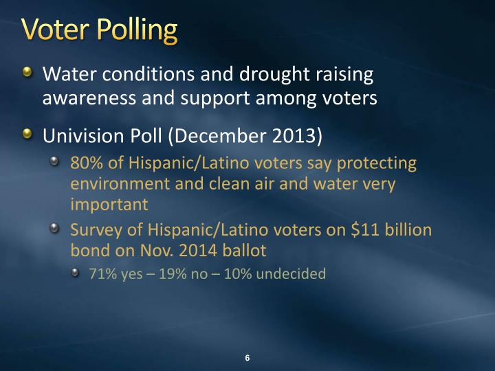 Voter Polling