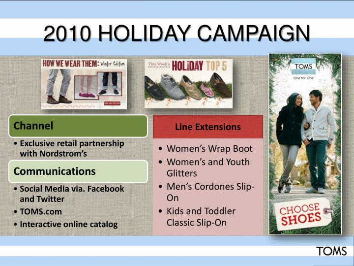 2010 Holiday Campaign