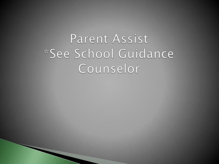 Parent Assist