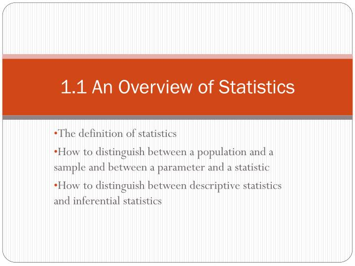 an overview of the t tests as useful statistics A statistical examination of two population means a two-sample t-test examines whether two samples are different and is commonly used when the variances of two normal distributions are unknown and when an experiment uses a small sample size.