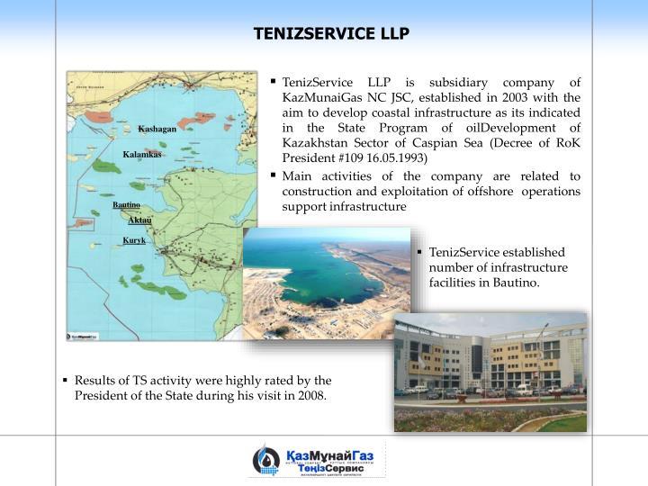 TENIZSERVICE LLP