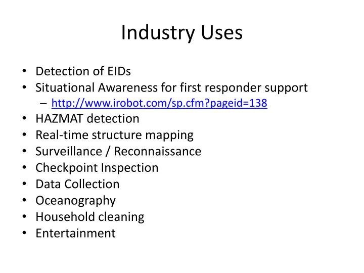 Industry Uses