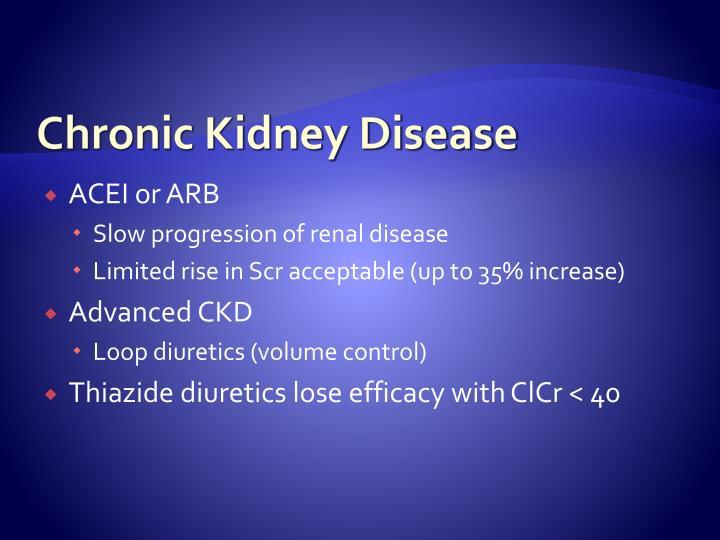 Chronic Kidney Disease