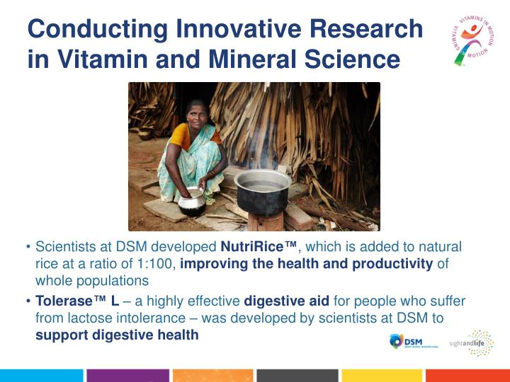 Conducting Innovative Research in Vitamin and Mineral Science
