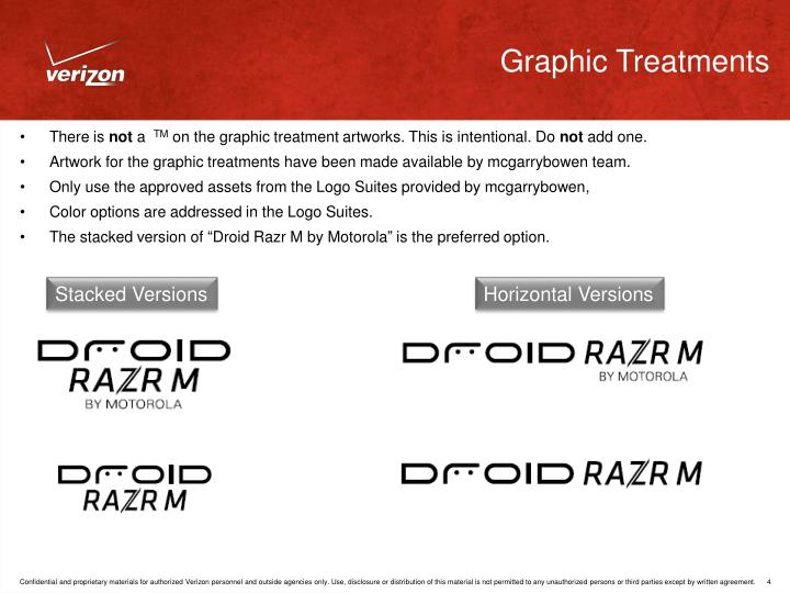 Graphic Treatments