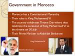 government in morocco