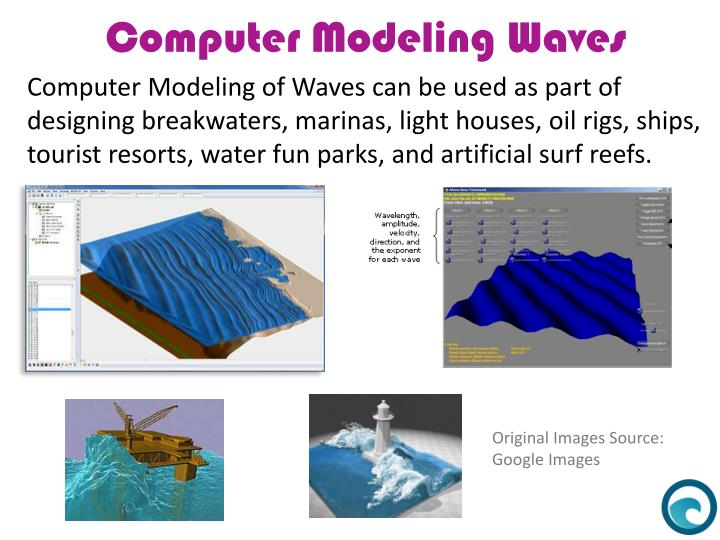Computer Modeling of Waves can be used as part of
