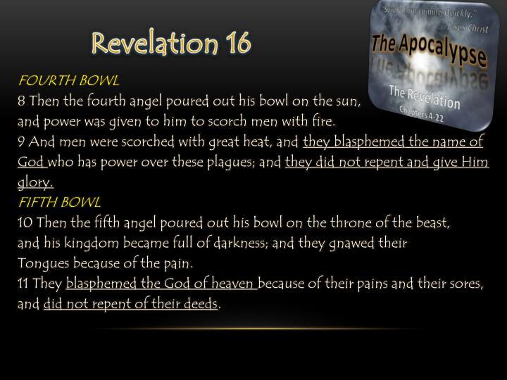 Revelation 16