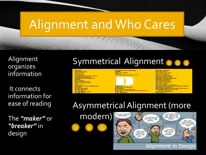 Alignment and Who Cares