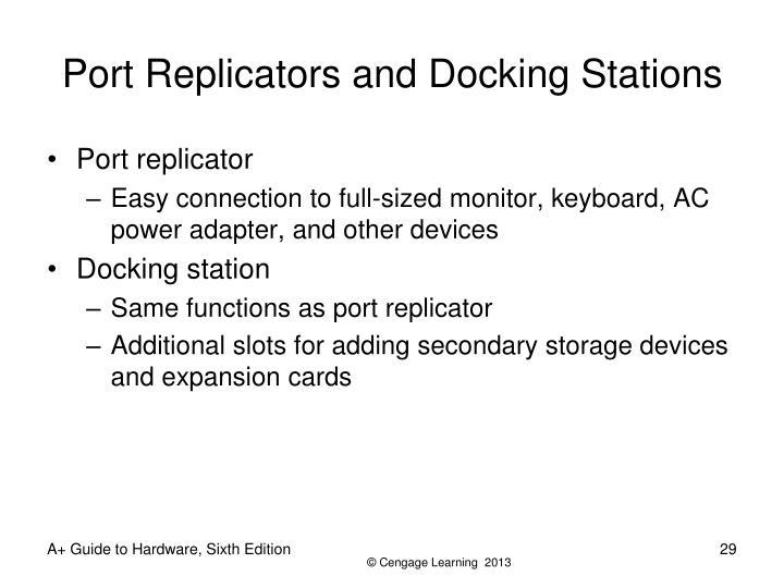 Port Replicators and Docking Stations