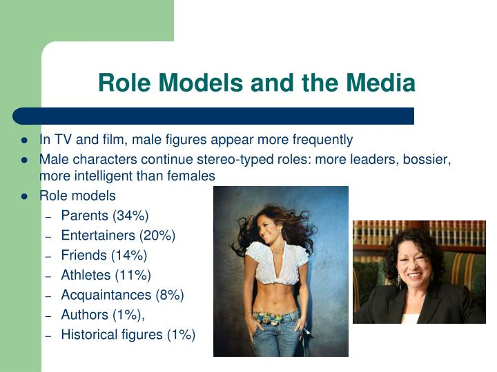 Role Models and the Media
