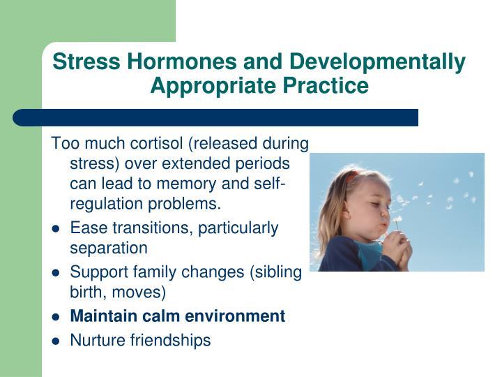 Stress Hormones and Developmentally Appropriate Practice