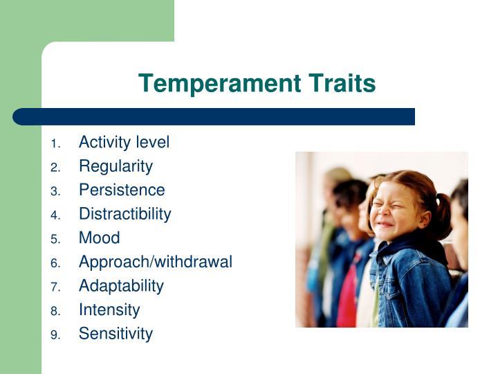 Temperament Traits