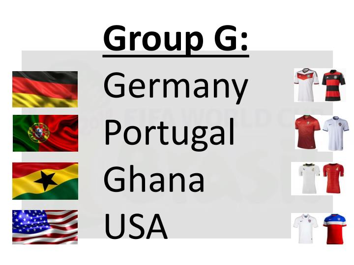 Group G: