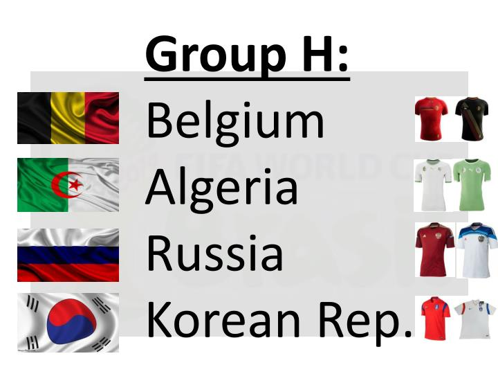 Group H: