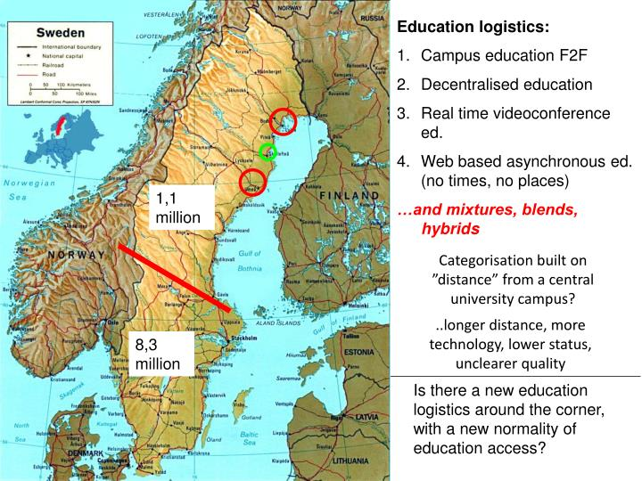 Education logistics: