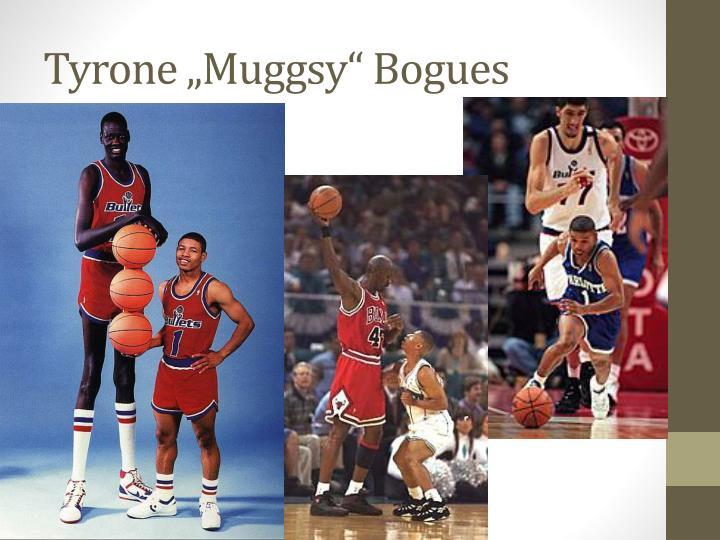 """Tyrone """"Muggsy"""" Bogues"""