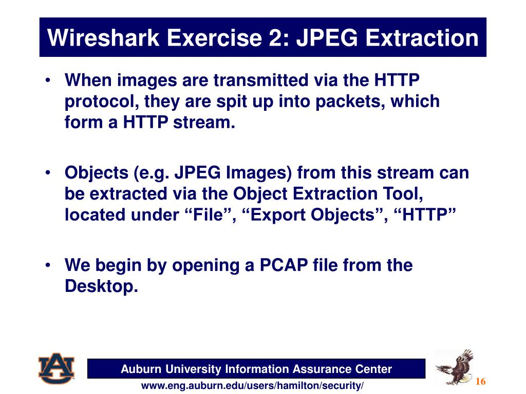 PPT - Wireshark PowerPoint Presentation - ID:1858230