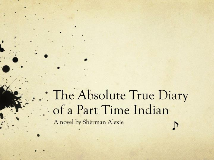 the absolute true diary of a part time indian n.