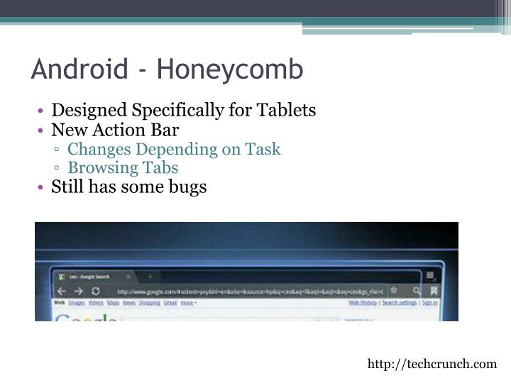Android - Honeycomb