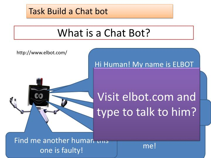 What is a chat bot