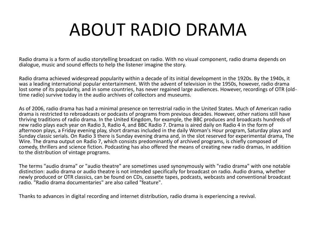 Old Radio Recordings
