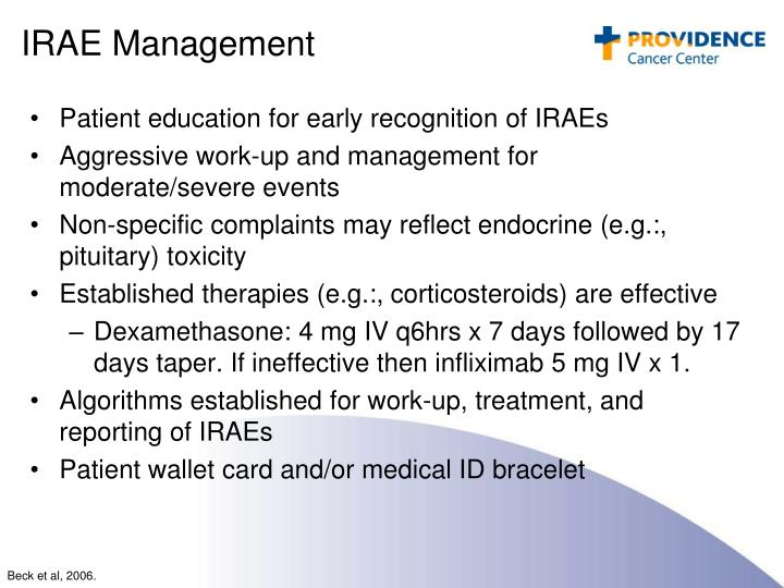 IRAE Management