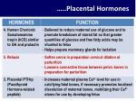 placental hormones1