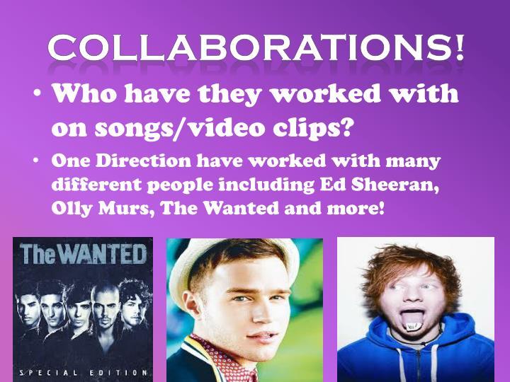 Collaborations!