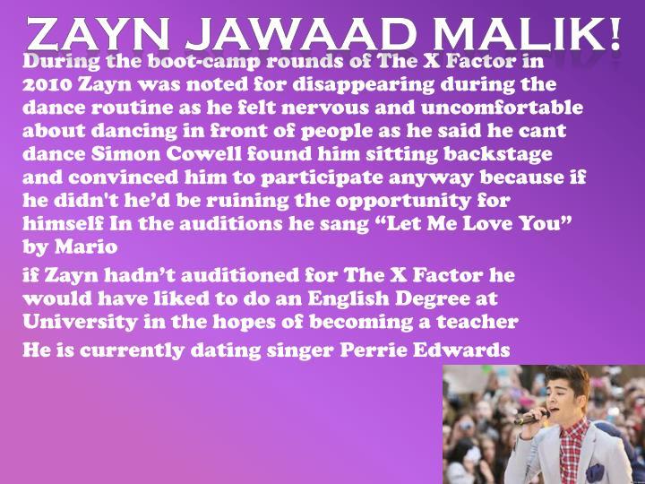 Zayn Jawaad Malik!