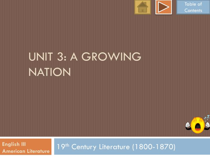 unit 3 a growing nation n.