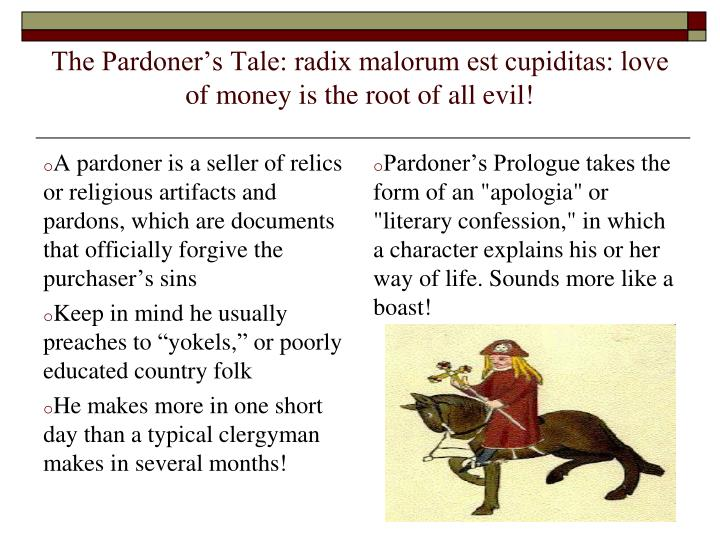 analysis beowul pardoners tale The pardoner's tale - analysis and the canterbury tales as a whole  the pardoner's tale essay topics related study materials.
