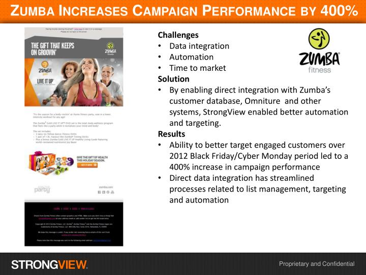 Ppt zumba increases campaign performance by 400 powerpoint zumba increases campaign performance by 400 toneelgroepblik Gallery